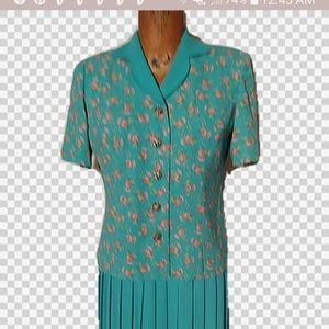 Leslie Fay vintage suit. Pristine